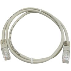 Datacom CAT5E UTP grau 1m - Netzkabel