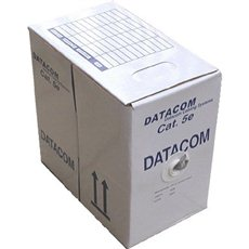Datacom, Draht, CAT5E, UTP, Outdoor, 305 m/Box - Netzkabel