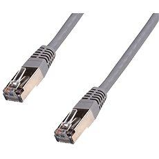 Datacom Netzwerkkabel CAT5e FTP grau 20 m - Netzkabel