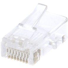 100-Pack,Datacom, RJ45, CAT5E, UTP, 8p8c, Draht - Konnektor
