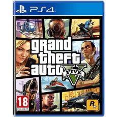 PS4 - Grand Theft Auto V - Konsolenspiel