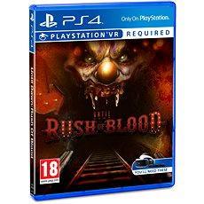 PS4 - Until Dawn: Rush of Blood - Konsolenspiel