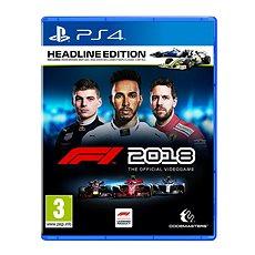 F1 2018 - Headline Edition - PS4 - Konsolenspiel