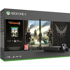 Xbox One X - The Division 2 Bundle - Spielkonsole