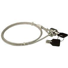 PremiumCord mit Stahldraht und Schlüssel - Sicherheitsschloss