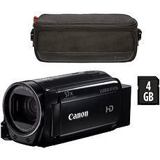 Canon LEGRIA HF R706 schwarz - Essential Kit - Digitalkamera