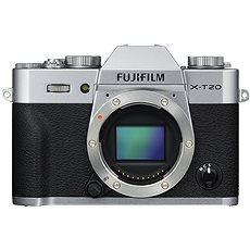 Digitalkamera Fujifilm X-T20 Gehäuse Silber - Digitalkamera