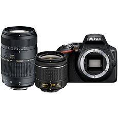 Nikon D3500 schwarz + 18-55mm VR + Tamron 70-300mm - Digitalkamera