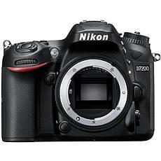 Nikon D7200 Kameragehäuse schwarz - Digitale Spiegelreflexkamera