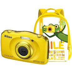NIKON Coolpix W100 Gelb backpack kit - Kinderkamera