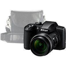 Nikon COOLPIX B600 schwarz + Hülle - Digitalkamera