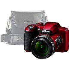 Nikon COOLPIX B600 rot + Hülle - Digitalkamera