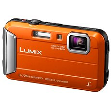 Panasonic LUMIX DMC-FT30 orange - Digitalkamera
