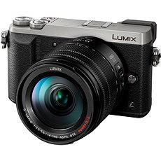 Panasonic LUMIX DMC-GX80, silber + 14-140 mm Objektiv - Digital-Kamera
