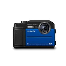 Panasonic LUMIX DMC-FT7 blau - Digitalkamera