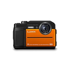 Panasonic LUMIX DMC-FT7 orange - Digitalkamera