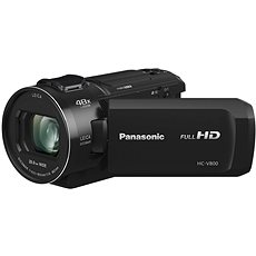 Panasonic V800 schwarz - Digitalkamera