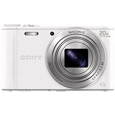 Sony CyberShot DSC-WX350 weiß - Digital-Kamera