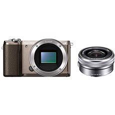 Digitalkamera Sony Alpha A5100 braun + 16-50 mm Objektiv - Digitalkamera