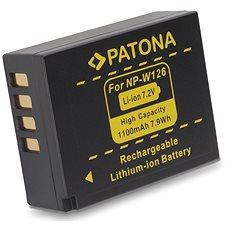 PATONA für Fuji NP-W126 1020 mAh Li-Ion - Kamera Batterien