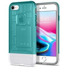 Spigen Classic C1 Bondi Blau iPhone 8/7 - Silikon-Schutzhülle