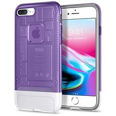 Spigen Klassische C1 Grape iPhone 8 Plus / 7 Plus - Silikon-Schutzhülle