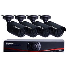 EVOLVEO Detective D04 NVR - Kamerasystem