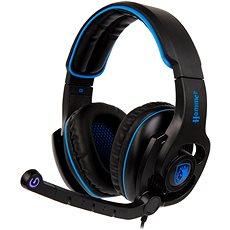 Sades Hammer schwarz / blau - Gaming Kopfhörer