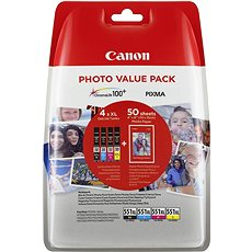 Canon CLI XL-551 C/M/Y/BK PHOTO VALUE - Tintenpatrone