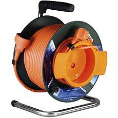 PremiumCord 50 m Verlängerungskabeltrommel 230, orange - Ladekabel
