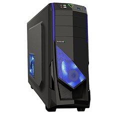EVOLVEO R04 schwarz/blau - PC-Gehäuse