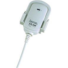 Hama MicroClip CS-460  weiß - Mikrofon