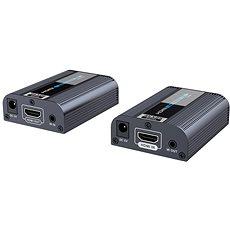 PremiumCord HDMI2.0 Extender auf 60m über ein Cat6/6a/7 Kabel - Extender