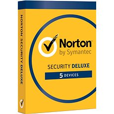 Symantec Norton Security Deluxe 3.0 Elektronische Lizenz, 1 Benutzer, 5 Geräte, 12 Monate (elektronische Lizenz) - Elektronische Lizenz