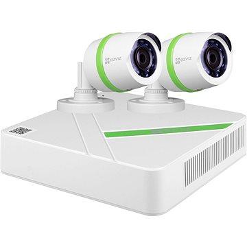 EZVIZ Analog Kit NVR + 2 x 720 p Kamera - Kamerasystem