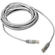 DATACOM Patch cord UTP CAT5E 0.25m Weiß - Netzkabel