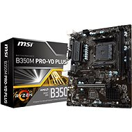 MSI B350M PRO-VD PLUS MAINBOARD - Motherboard