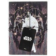 STAR WARS Darth Vader und Leia - Notizbuch (2x) - Notizbuch