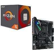 ASUS ROG STRIX B450-E SPIEL + AMD CPU 5 2600 - Set