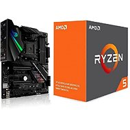 ASUS akční balíček  MB ROG STRIX X470-F GAMING + CPU AMD RYZEN 5 1600X - Set