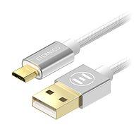 Eternico AluCore Micro USB 0.5m Silber - Datenkabel