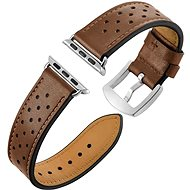 Eternico Apple Watch 42mm Leather Band Brown - Armband