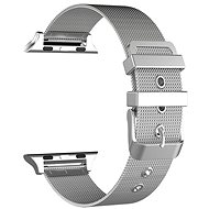 Eternico Apple Watch 42mm Mesh Metal Band Silver - Armband