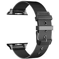 Eternico 42mm / 44mm / 45mm Mesh Metal Band Black für Apple Watch - Armband