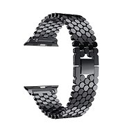 Eternico Apple Watch 42mm Metal Band Black - Armband