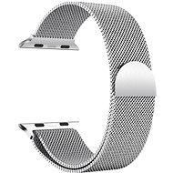 Eternico Apple Watch 42mm / 44mm Milanese Armband Silberfarben - Armband