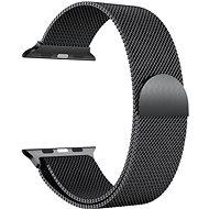 Eternico 42mm / 44mm Milanese Schwarz für Apple Watch - Armband