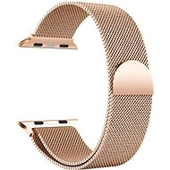 Eternico Apple Watch 42mm / 44mm Milanese Armband Roségold - Armband