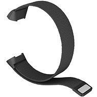 Eternico Fitbit Charge 3/4 Stahl schwarz (klein) - Armband