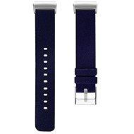 Eternico Fitbit Charge 3/4 Canvas dunkelblau (klein) - Armband